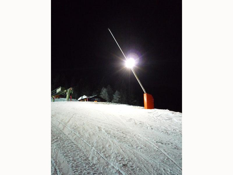 matelas de securite canon a neige