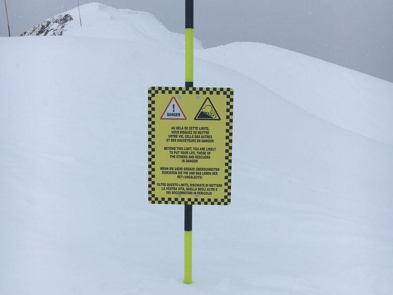 panneau dibon info danger